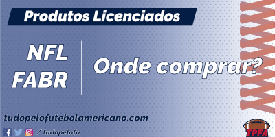 07211da0b776b Como e onde comprar produtos de futebol americano e da NFL aqui no Brasil