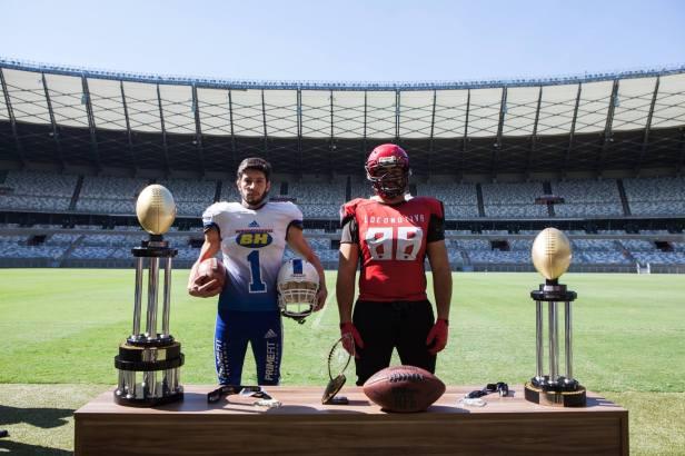 Minas Bowl - Federação Mineira de Futebol Americano - Troféu