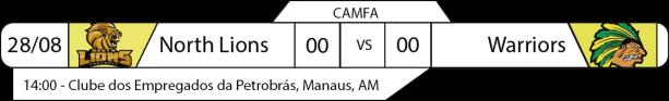 Tudo pelo Futebol Americano - Campeonato Amazonense (CAMFA) - 2016-08-28 - Jogos