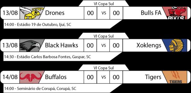 TPFA - IV Copa Sul - 13 e 14-08-2016