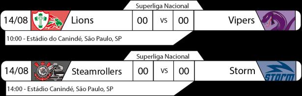 TPFA - Superliga Nacional - 2016-08-14 - Jogos