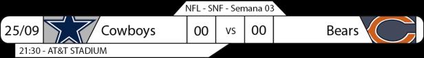 Tudo pelo Futebol Americano - NFL - 2016-09-25 - Semana 03 - Sunday Night Football