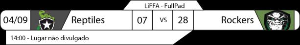 Tudo pelo Futebol Americano - LiFFA - 2016-09-04 - Resultados