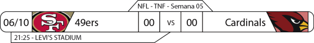 Tudo pelo Futebol Americano - 2016-10-06 - Semana 05 - Thursday Night Football - 49ers x Cardinals