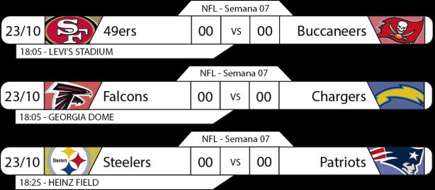 Tudo pelo Futebol Americano - 2016-10-23 - NFL - Semana 07 - Jogos da 18 horas
