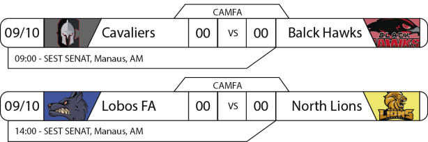 Tudo pelo Futebol Americano - CAMFA - 2016-10-09 - Jogos