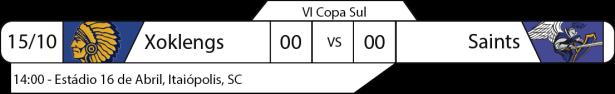 Tudo pelo Futebol Americano - IV Copa Sul - 2016-10-15 - Jogo