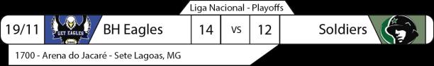 Tudo pelo Futebol Americano - Liga Nacional - 19/11/2016 - Semifinal Nacional - Resultado