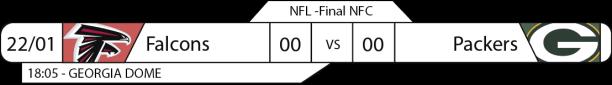 Tudo pelo Futebol Americano - NFL - 22/01/2017 - Finais de Conferência - NFC Championship - Falcons x Packers