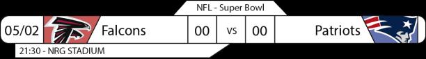 Tudo pelo Futebol Americano - NFL - 05/12/2017 - Playoffs - Super Bowl - Falcons x Patriots