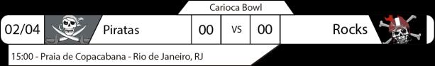 Tudo pelo Futebol Americano - Carioca Bowl - 02/08/2017 - Jogo