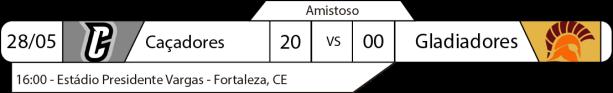 2017-05-28 - Amistosos-Resultados