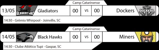 TPFA - Campeonato Catarinense - 2017-05-13 - Jogo