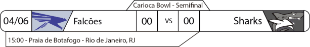 TPFA - 2017-06-04 - Carioca Bowl - Semifinal - Jogo
