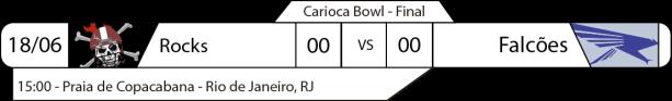 TPFA - 2017-06-18 - Carioca Bowl - Final - Jogo