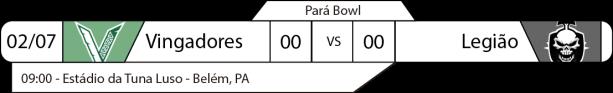 TPFA - Campeonato Paraense - 2017-07-02 - Pará Bowl - Jogo