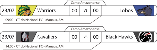 TPFA - 2017-07-23 - Amazonense - Jogos