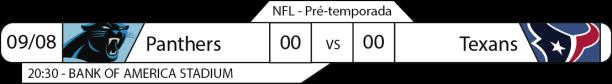Preseason - Semana 1 - 2017-08-09 -Jogos