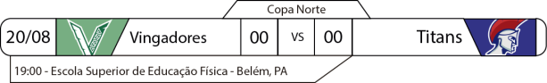 TPFA - Copa Norte - 2017-08-20 - Jogo
