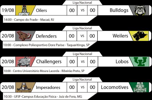 TPFA - Liga Nacional - 2017-08-20 - Manhã - Jogos