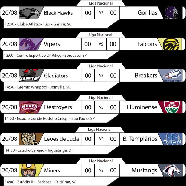 TPFA - Liga Nacional - 2017-08-20 - Tarde - Jogos
