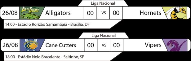 TPFA - Liga Nacional - 2017-08-27 - Brasil - Jogos
