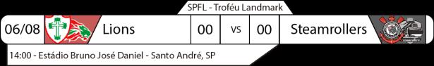 TPFA - SPFL - 2017-08-06 - Troféu Landmark 2017 - Jogo
