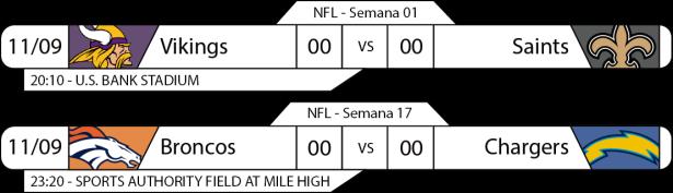 TPFA - 2017-09-11 - Monday Night Football - Rodada dupla