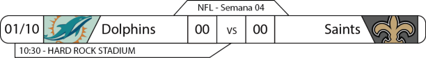 TPFA - 2017-10-01 - Semana 04 - London Game - Dolphins x Saints