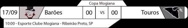TPFA - Copa Mogiana - 2017-09-17 - Jogos