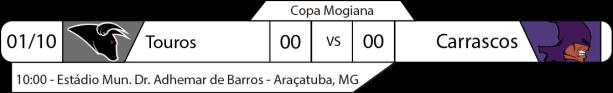 TPFA - Copa Mogiana - 2017-10-01 - Jogos