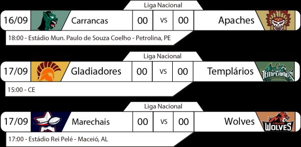 TPFA - Liga Nacional - 2017-09-17 - Nordeste - Jogos