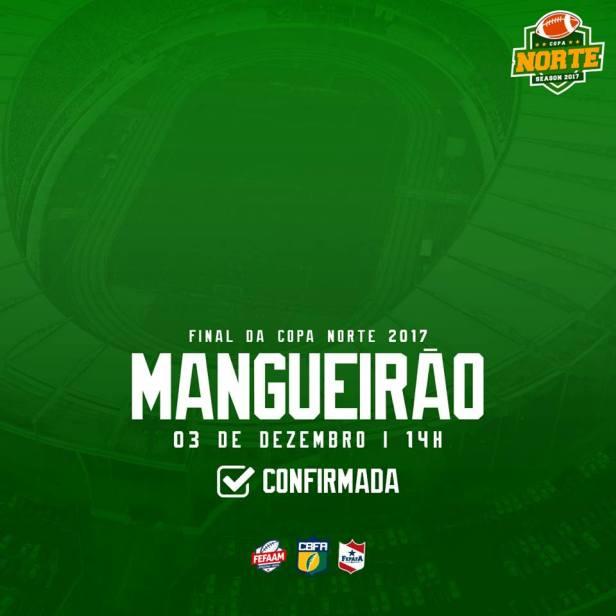 Final Copa Norte de Futebol Americano 2017