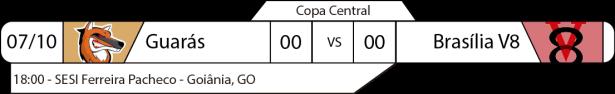 TPFA - Copa Central - 2017-10-08 - Jogo