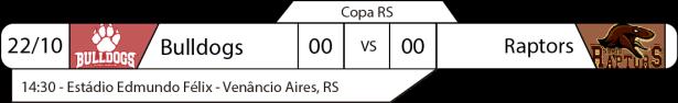 TPFA - Copa RS - 2017-10-22 - Jogo