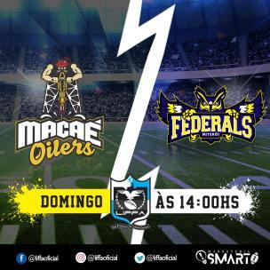 LiFFA - 2017-11-11 - Macaé Oilers x Niterói Federals