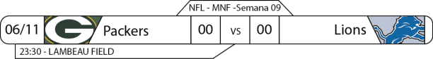 TPFA - 2017-11-06 - MNF - Packers x Lions