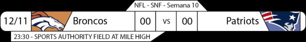 TPFA - 2017-11-12 - SNF - Broncos x Patriots