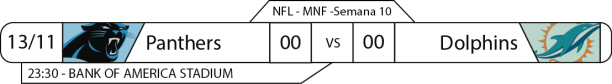 TPFA - 2017-11-13 - MNF - Panthers x Dolphins