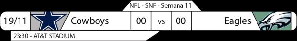 TPFA - 2017-11-19 - SNF - Cowboys x Eagles