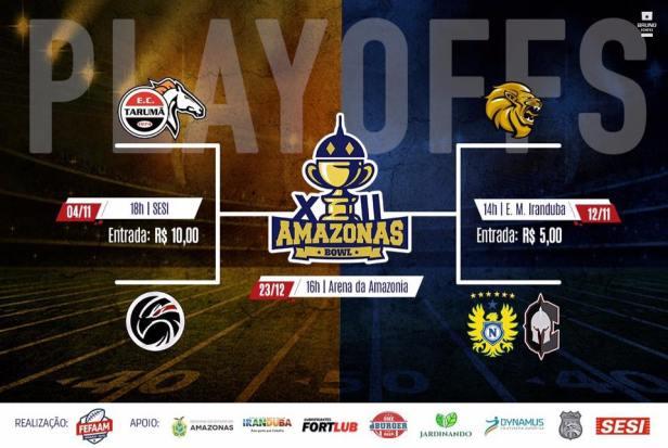 TPFA - Amazonas Bowl - Semifinais