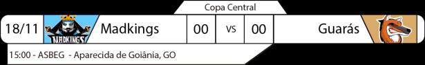 TPFA - Copa Central - 2017-11-18 - Terceiro Lugar
