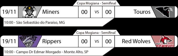 TPFA - Copa Mogiana - 2017-11-19 - Semifinal