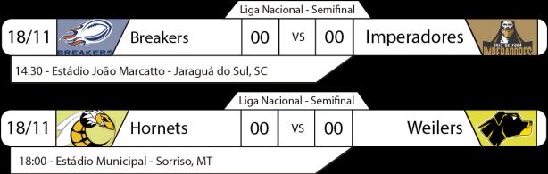 TPFA - Liga Nacional - 2017-11-04 - Brasil - Semifinal