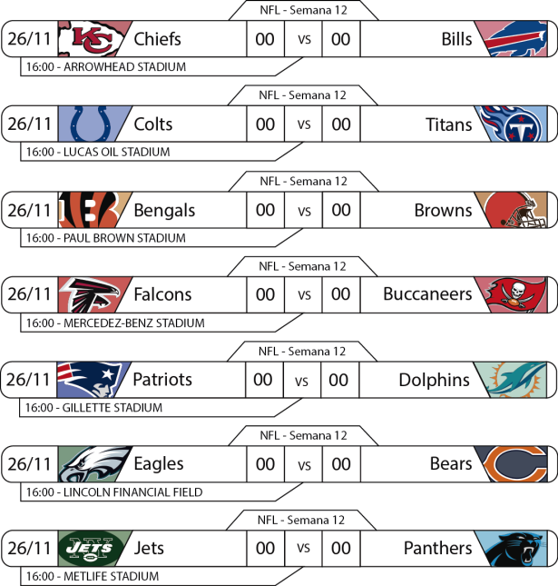 TPFA - NFL - 2017-11-29 - Jogos 16h