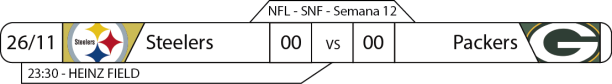TPFA - NFL - 2017-11-29 - SNF - Steelers x Packers