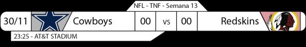 TPFA - NFL - 2017-11-30 - TNF - Cowboys x Redsking