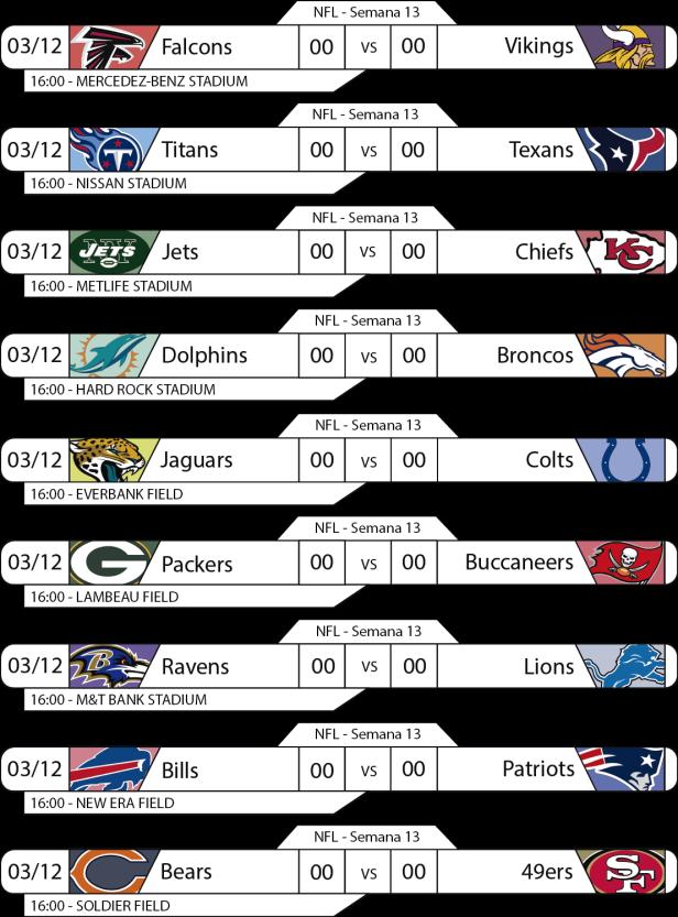 TPFA - NFL - 2017-12-03 - Jogos 16h