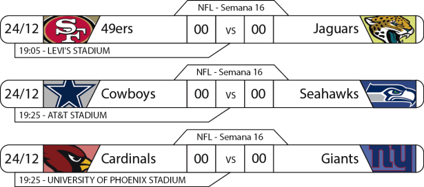 TPFA - NFL - 2017-12-24 - Jogos - 19h