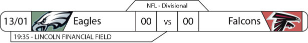 TPFA - NFL - Playoffs - 2017-01-13 - Divisional NFC - Eagles x Falcons